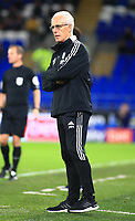 28th September 2021; Cardiff City Stadium, Cardiff, Wales;  EFL Championship football, Cardiff versus West Bromwich Albion; Mick McCarthy, Manager of Cardiff City