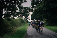 moody day for a race<br /> <br /> Stage 7: West Bridgford to Mansfield (215km)<br /> 15th Ovo Energy Tour of Britain 2018