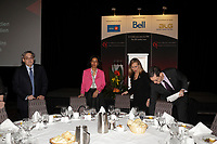 new provincial Minister Dominique Anglade<br />  attend the Canadian Club of Montreal, Monday, February 8, 2016.<br /> <br /> MANDATORY CREDIT <br /> PHOTO : Pierre Roussel - Agence Quebec Presse