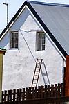 Ladder On Building