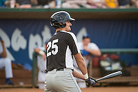 Sam Hilliard (25) of the Grand Junction Rockies at bat against the Ogden Raptors in Pioneer League action at Lindquist Field on July 6, 2015 in Ogden, Utah. Ogden defeated Grand Junction 8-7. (Stephen Smith/Four Seam Images)