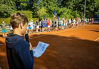 Hilversum, Netherlands, Juli 29, 2019, Tulip Tennis center, National Junior Tennis Championships 12 and 14 years, NJK, Opening, Mees Röttering (NED)<br /> Photo: Tennisimages/Henk Koster