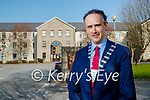 Mayor of Kerry Patrick O'Connor- Scarteen outside Kerry County Council.