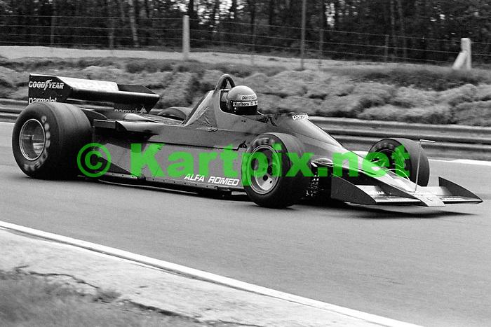 Niki Lauda testing the Brabham Alfa BT46B Fan Car at Brands Hatch in 1978