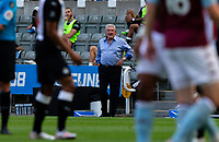 Newcastle United manager Steve Bruce watches on<br /> <br /> Photographer Alex Dodd/CameraSport<br /> <br /> The Premier League - Newcastle United v Aston Villa - Wednesday 24th June 2020 - St James' Park - Newcastle <br /> <br /> World Copyright © 2020 CameraSport. All rights reserved. 43 Linden Ave. Countesthorpe. Leicester. England. LE8 5PG - Tel: +44 (0) 116 277 4147 - admin@camerasport.com - www.camerasport.com