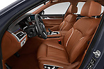 Front seat view of a 2018 BMW 7 Series M Sport 4 Door Sedan front seat car photos
