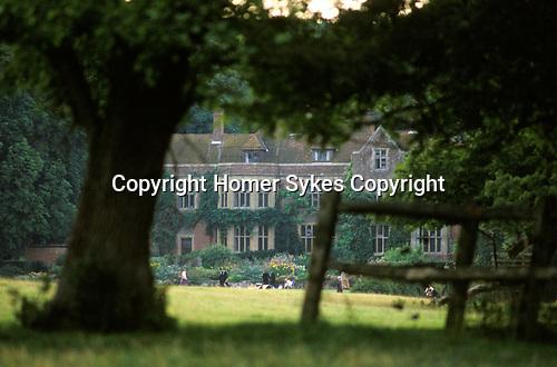 Glyndebourne the original manor house. 1980s Lewes East Sussex UK