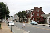 Downtown in Orange County, Virginia. Photo/Andrew Shurtleff