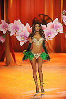 NON EXCLUSIVE PICTURE: MATRIXPICTURES.CO.UK.PLEASE CREDIT ALL USES..UK RIGHTS ONLY..Brazilian model Alessandra Ambrosio is pictured on the runway during the 2012 Victoria's Secret lingerie fashion show, held at New York's Lexington Avenue Armory. ..NOVEMBER 7th 2012..REF: GLK 125134 /NortePhoto