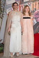 Charlotte Casiraghi et S.A.R. la Princesse Alexandra de Hanovre<br /> Bal de la Rose 2016 imagine par Karl Lagerfeld, Soiree Cuba donnee au profit de la Fondation Princesse Grace