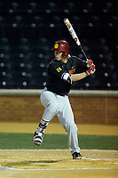 Dillon Paulson (24) of the USC Trojans at bat against the Wake Forest Demon Deacons at David F. Couch Ballpark on February 24, 2017 in  Winston-Salem, North Carolina.  The Demon Deacons defeated the Trojans 15-5.  (Brian Westerholt/Four Seam Images)