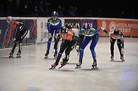 SPEEDSKATING: DORDRECHT: 06-03-2021, ISU World Short Track Speedskating Championships, SF 3000m Relay, Rianne de Vries (NED), ©photo Martin de Jong