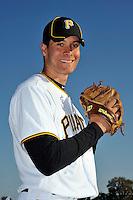 Feb 28, 2010; Bradenton, FL, USA; Pittsburgh Pirates  pitcher Javier Lopez (48) during  photoday at Pirate City. Mandatory Credit: Tomasso De Rosa/ Four Seam Images