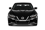 Car photography straight front view of a 2020 Nissan Maxima SV 4 Door Sedan Front View