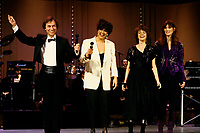 File Photo,  Montreal (Qc) CANADA - <br /> Jean Pierre Ferland, probablement vers 1986 au telethon Jean Lapointe, Theatre St-Denis<br /> Photo :  by Pierre Roussel/ IMAGES DISTRIBUTION