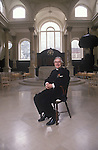 Revd Chad Varah rector of St Stephens Wallbrook City of London UK . He was the founder of the Samaritans.
