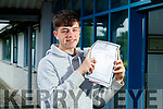 Fergal Barry, Tralee, who received his Leaving Certificate results at Mercy Mounthawk Secondary School, Tralee, on Tuesday morning last.
