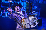 The northern folk music group, Los Tigres del Norte, offered the first of two concerts of his music in the arena of Livestock Expo in Hermosillo Sonora, the morning of May 9, 2015.