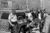 equipe de radio canada en Mai  1980 avec la camera RCA   TK-76<br /> <br /> <br /> PHOTO : Agence Quebec Presse