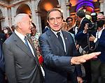 GIANNI LETTA E CARLO FUORTES<br /> RICEVIMENTO 14 LUGLIO 2021 AMBASCIATA DI FRANCIA<br /> PALAZZO FARNESE ROMA