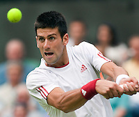 22-6-09, England, London, Wimbledon, Djokovic