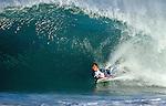 11 October 2004, Hossegor, France --- Professional bodyboarder Manuel Arrarte of Spain in action on the famous beach break of Hossegor, France. Photo by Victor Fraile --- Image by © Victor Fraile/Corbis