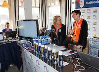 March 15, 2015, Netherlands, Rotterdam, TC Victoria, NOJK,  Match control<br /> Photo: Tennisimages/Henk Koster