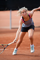 August 9, 2014, Netherlands, Rotterdam, TV Victoria, Tennis, National Junior Championships, NJK,  Tess Menten (NED)<br /> Photo: Tennisimages/Henk Koster