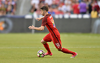 Sandy, UT - Saturday June 3, 2017: The U.S. Men's National team go down 0-1 Venezuela in an international friendly tune up match leading up to their WCQ Hex games at Rio Tinto Stadium.