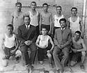 Iran 1951 .A sport team of Sakkez  .Iran 1951 .Une equipe sportive de Sakkez