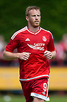 Aberdeen v St Johnstone...28.06.15  Glebe Park, Brechin..Pre-Season Friendly<br /> Adam Rooney<br /> Picture by Graeme Hart.<br /> Copyright Perthshire Picture Agency<br /> Tel: 01738 623350  Mobile: 07990 594431