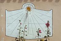 Europe/France/Poitou-Charentes/17/Charente Maritime/Ile d'Aix: Cadran solaire