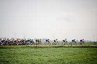 crossing 'De Moeren' (open flatlands)<br /> <br /> 43rd Driedaagse Brugge-De Panne 2019 <br /> One day race (1.UWT) from Brugge to De Panne BEL (200km)<br /> <br /> ©kramon