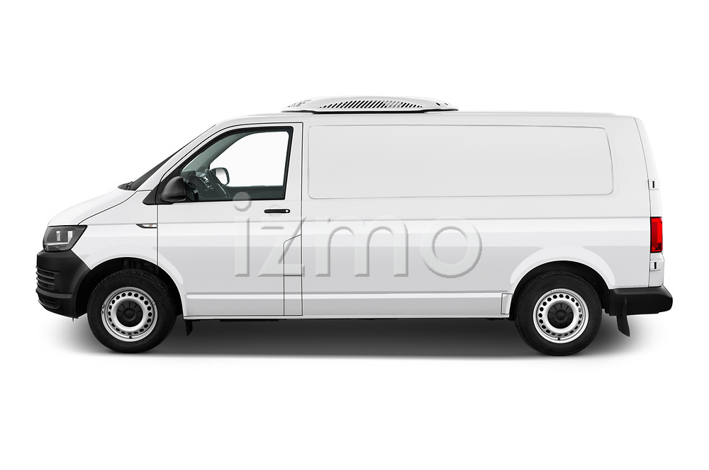 Car driver side profile view of a 2018 Volkswagen Transporter Base 4 Door Pick Up