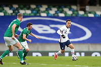 BELFAST, NORTHERN IRELAND - MARCH 28: Sergino Dest #2 of the United States during a game between Northern Ireland and USMNT at Windsor Park on March 28, 2021 in Belfast, Northern Ireland.