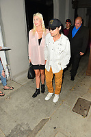Corey Feldman and Courtney Anne Mitchell Spotted At Craig's In Hollywood