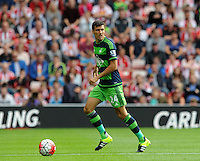 Jack Cork of Swansea City during the Barclays Premier League match between Sunderland and Swansea City played at Stadium of Light, Sunderland