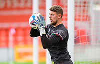Lincoln City's Alex Palmer during the pre-match warm-up<br /> <br /> Photographer Chris Vaughan/CameraSport<br /> <br /> The EFL Sky Bet League One - Saturday 12th September 2020 - Lincoln City v Oxford United - LNER Stadium - Lincoln<br /> <br /> World Copyright © 2020 CameraSport. All rights reserved. 43 Linden Ave. Countesthorpe. Leicester. England. LE8 5PG - Tel: +44 (0) 116 277 4147 - admin@camerasport.com - www.camerasport.com - Lincoln City v Oxford United