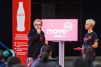 at the launch of the Move60 app at Mystery Creek Events Centre, Hamilton, New Zealand, Saturday 29 March 2014. Photo: Stephen Barker/Barker Photography. ©Coca Cola South Pacific