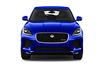 Car photography straight front view of a 2019 Jaguar E-PACE R-Dynamic S 5 Door SUV