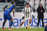 Paulo Dybala of Juventus FC in action during the Serie A football match between Juventus FC and Udinese Calcio at Juventus stadium in Torino  (Italy), January, 3rd 2021.  Photo Federico Tardito / Insidefoto