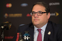 New York, NY - Friday June 24, 2016: CONCACAF president Victor Montagliani during a press conference prior to the final of the Copa America Centenario at The Westin New York at Times Square.<br /> <br /> Photo during American Cup USA 2016 Press Conference The Westin New York at Times Square. --- Foto durante la Conferencia de Prensa previo a la Gran Final de la Copa America Centenario USA 2016, enla foto: Victor Montagliani, Presidente CONCACAF<br /> <br /> ---24/06/2016/MEXSPORT/ Omar Martinez.
