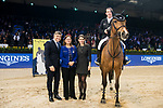 Prize presentation ceremony of the the Longines Speed Challenge during the Longines Masters of Hong Kong at AsiaWorld-Expo on 10 February 2018, in Hong Kong, Hong Kong. Photo by Diego Gonzalez / Power Sport Images