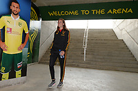 20180228 - LARNACA , CYPRUS :  Belgian Tessa Wullaert pictured during a women's soccer game between Spain and the Belgian Red Flames , on friday 2 March 2018 at the AEK Arena in Larnaca , Cyprus . This is the second  game in group B for  Belgium during the Cyprus Womens Cup , a prestigious women soccer tournament as a preparation on the World Cup 2019 qualification duels. PHOTO SPORTPIX.BE | DAVID CATRY