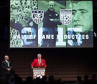 U.S. Soccer 2015 Hall of Fame Induction Ceremony, October 3, 2015