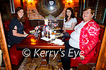 Enjoying the evening in Benners on Friday, l to r: Christine, Louise and Felicitas O'Reilly from Tarbert.