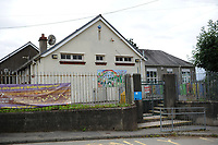 Pictured:  A General view of Ysgol Gymraeg Gellionnen.<br />