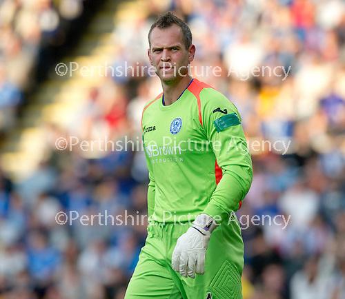 St Johnstone FC...Season 2012-13.Alan Mannus.Picture by Graeme Hart..Copyright Perthshire Picture Agency.Tel: 01738 623350  Mobile: 07990 594431