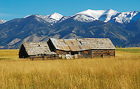 Old historical buildings in the Bozeman Montana area
