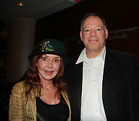 General Hospital's Jacklyn Zeman poses with Steve (supporter and Pharmacist at Walgreens - NYC - The 31st Annual Jane Elissa Entertainment Extravaganza to benefit Leukemia, Cancer Research and Broadway Cares Equity Fights Aids on November 5, 2018 at the New York Marriott Marquis, New York City, New York.  (Photo by Sue Coflin/Max Photos)